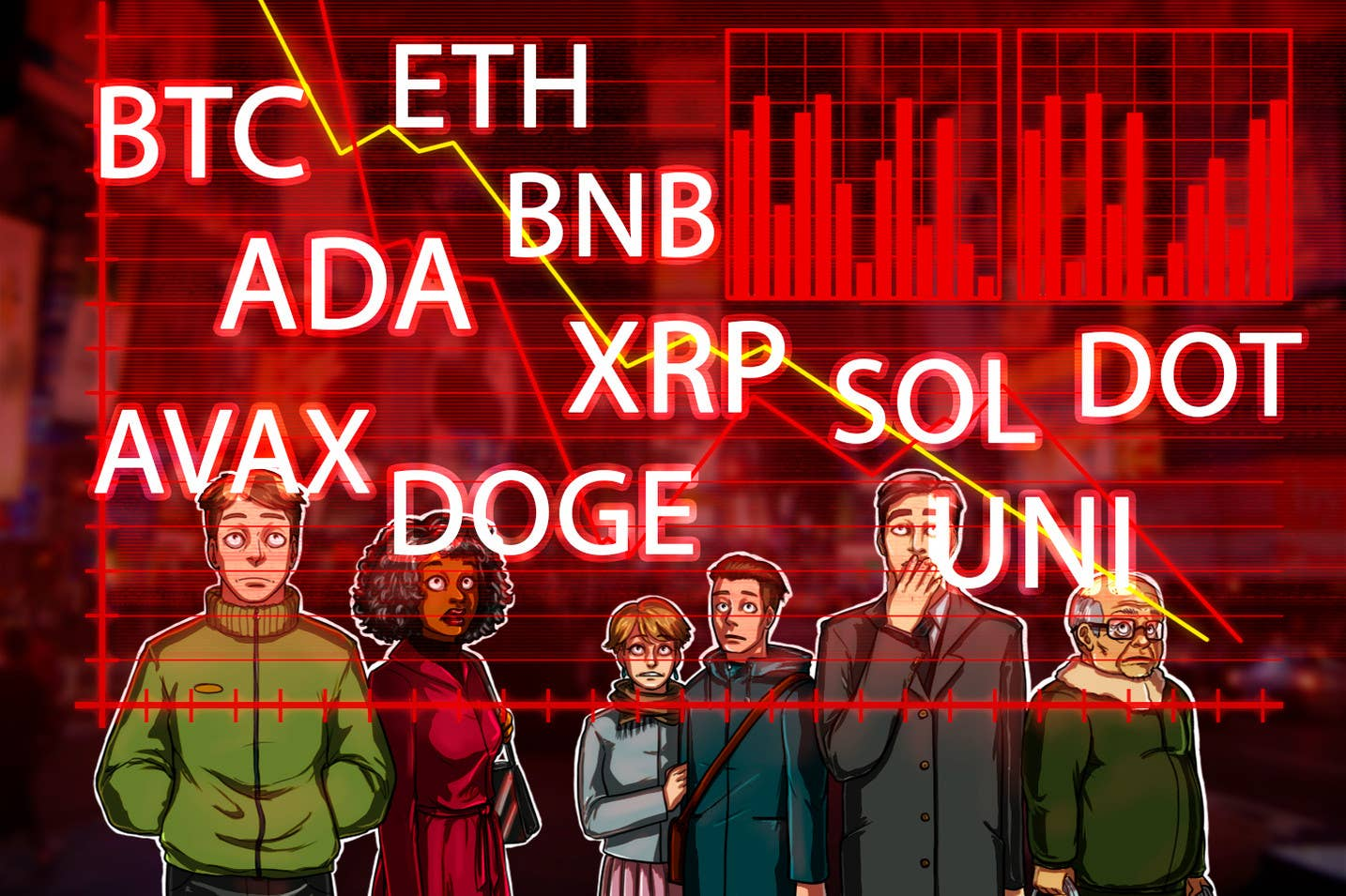 Analiza cen 9/20: BTC, ETH, ADA, BNB, XRP, SOL, DOT, DOGE, UNI, AVAX