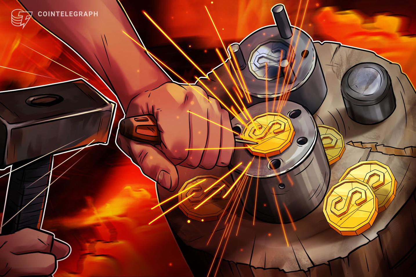 CryptoPumpNews Consulting: activitatea Stablecoin scade după vârful din mai