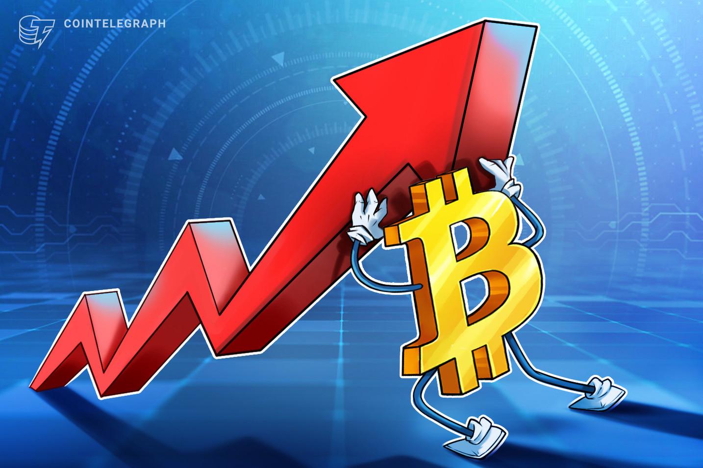 Το Bitcoin βλέπει τη δεύτερη μεγαλύτερη αγορά bull bull με τιμή BTC «κολλημένη» στα 30K $