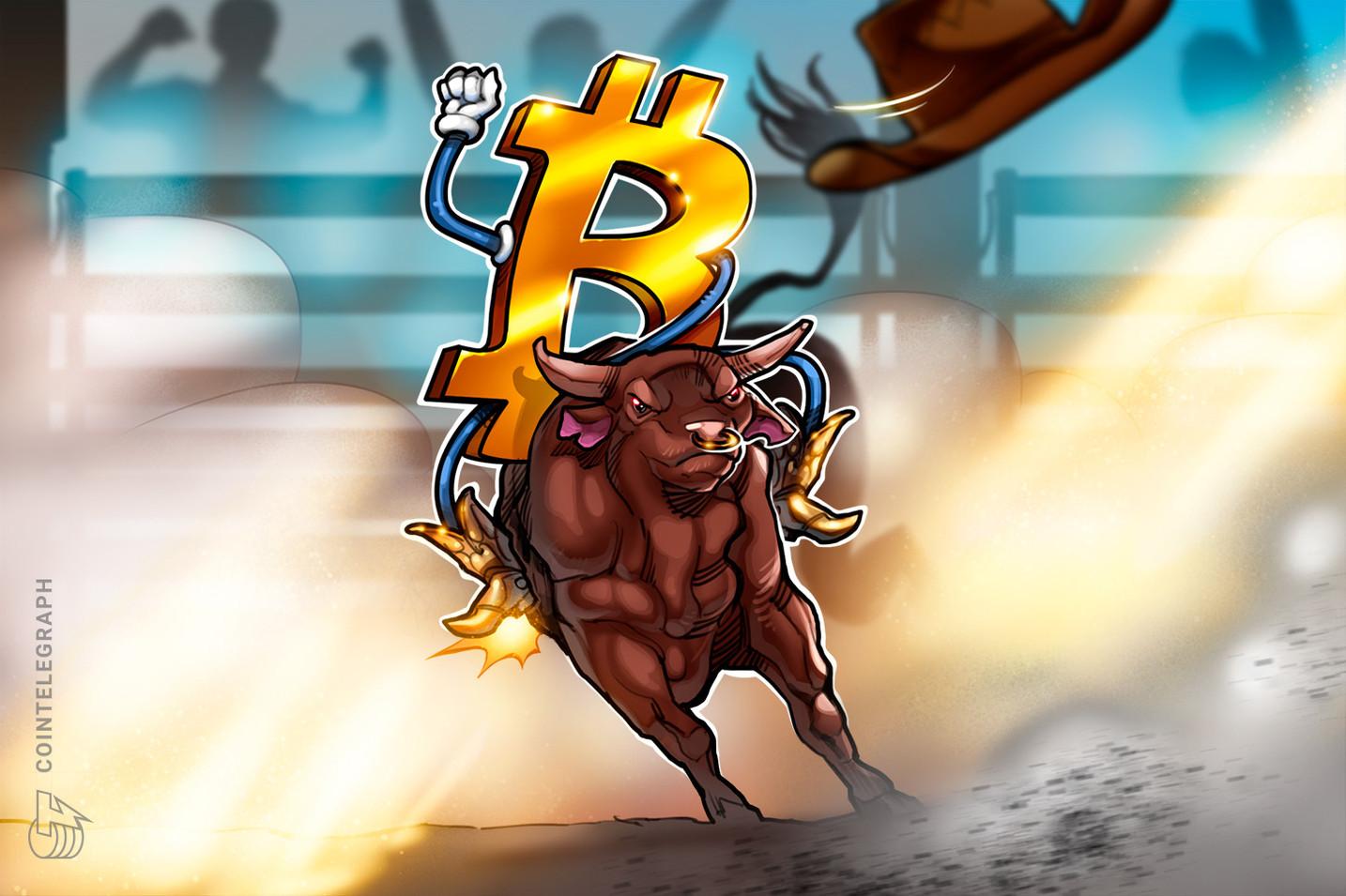 Sự thống trị của Bitcoin một lần nữa gia tăng khi thị trường tiền điện tử phục hồi