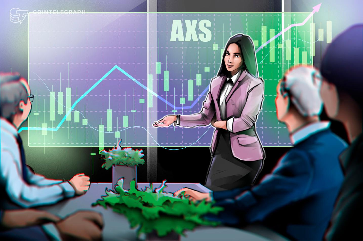 Axie Infinity освежава рекордно високо, тъй като AXS се изкачва на 131% само за 3 дни