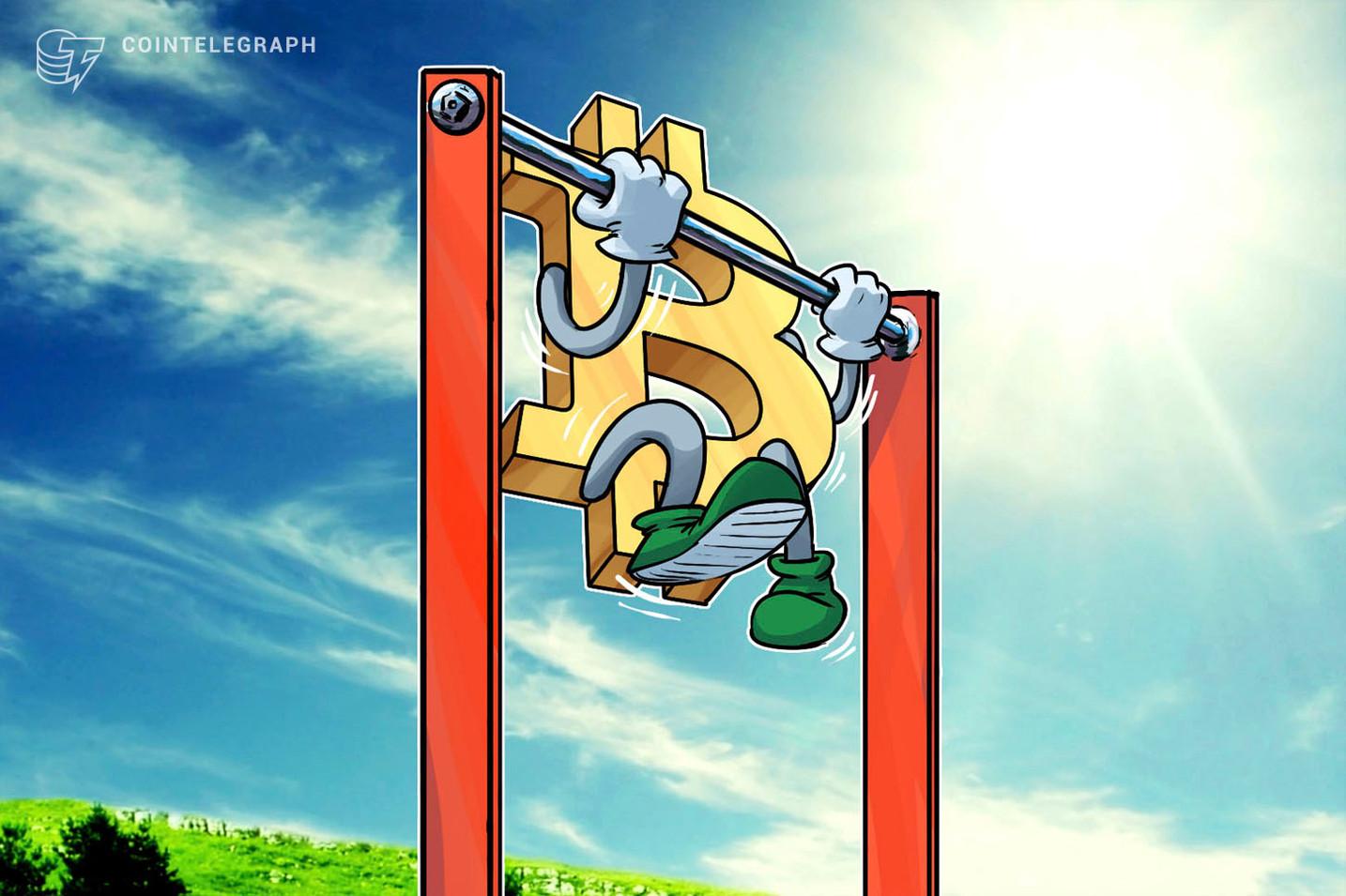 Der Bitcoin-Preis sucht ein höheres Tief, da der Händler innerhalb von Wochen einen Ausbruch von 45 USD prognostiziert