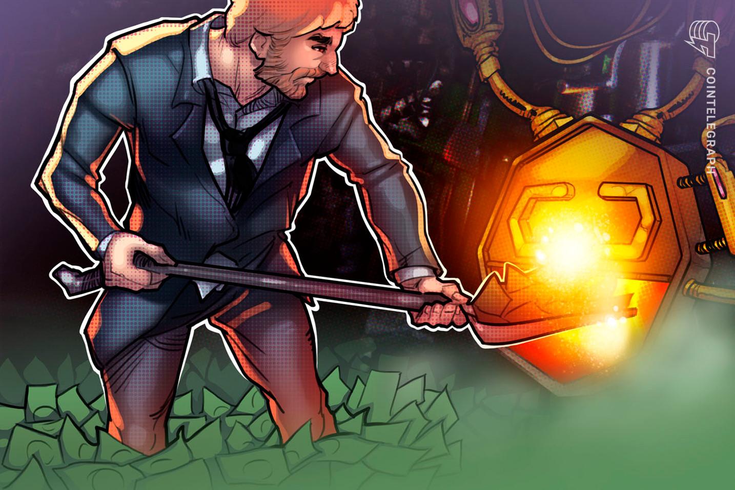 """Pranešama, kad """"Marshall Wace"""" rizikos draudimo fondų milžinė pasineria į kriptografiją"""
