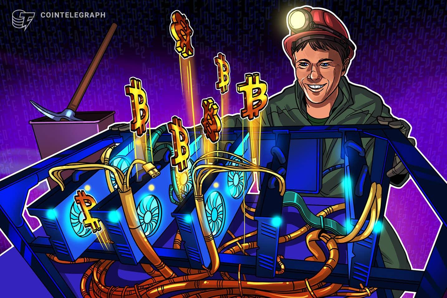 Trudność wydobywania bitcoinów wzrosła o 31% od lipca