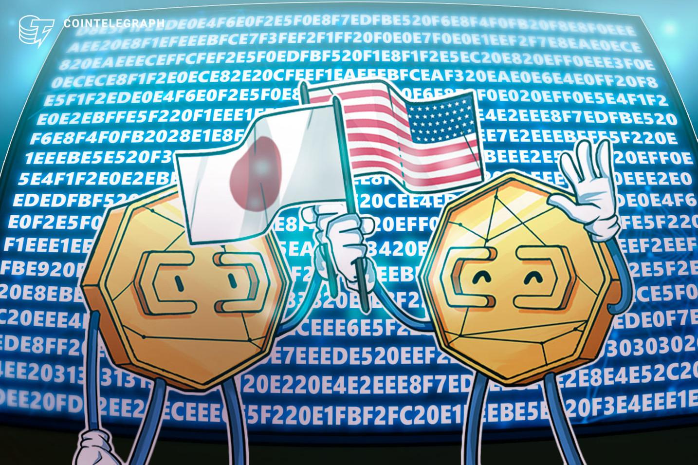 Thỏa thuận thương mại kỹ thuật số Hoa Kỳ và Nhật Bản nên bao gồm tiền điện tử: American think tank