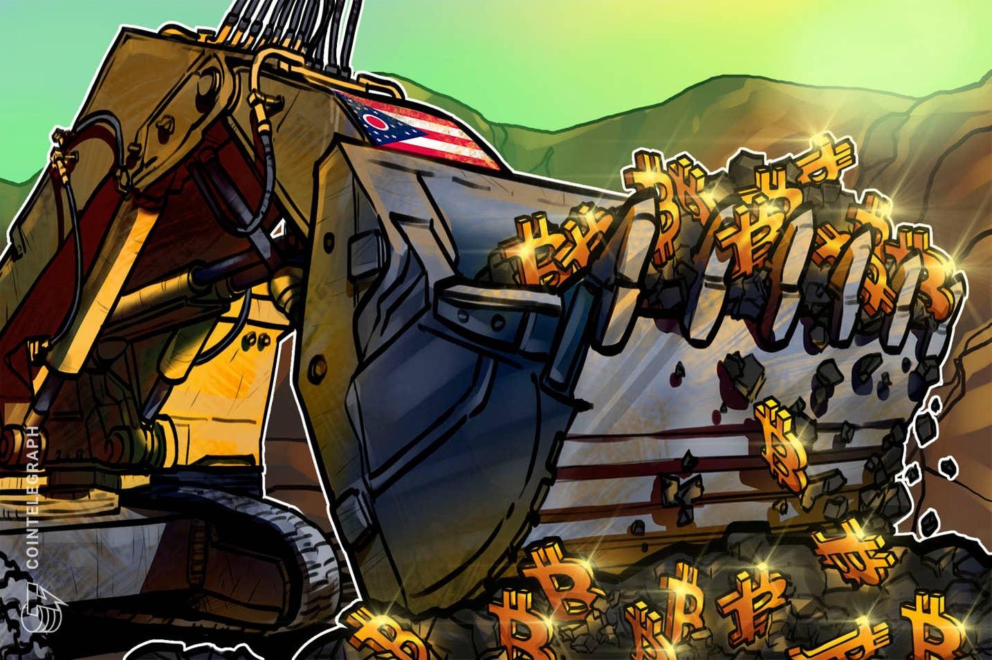"""Ohajas priims naują """"BIT Mining"""" 85 MW galios """"Bitcoin"""" kasyklą"""