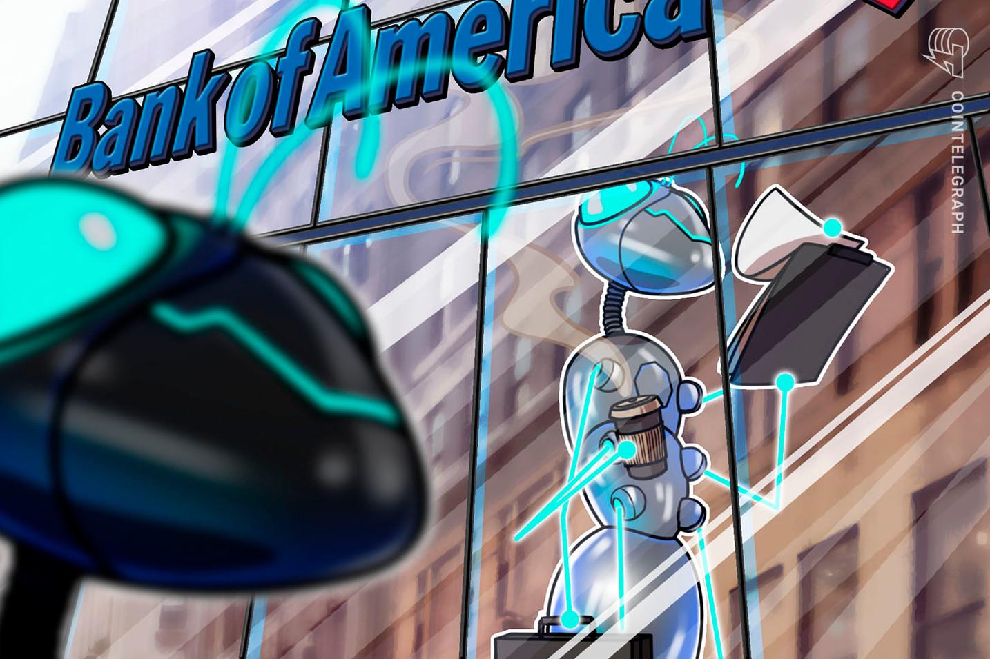 Bank of America richt naar verluidt een crypto-onderzoeksteam op