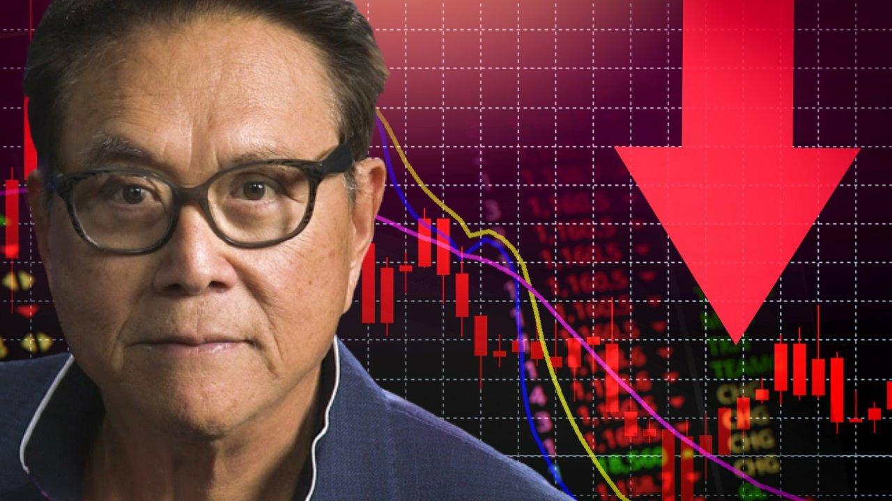 Rich Dad Robert Kiyosaki van arme vader voorspelt 'Giant Stock Market Crash' in oktober - zegt 'Bitcoin May Crash Too'