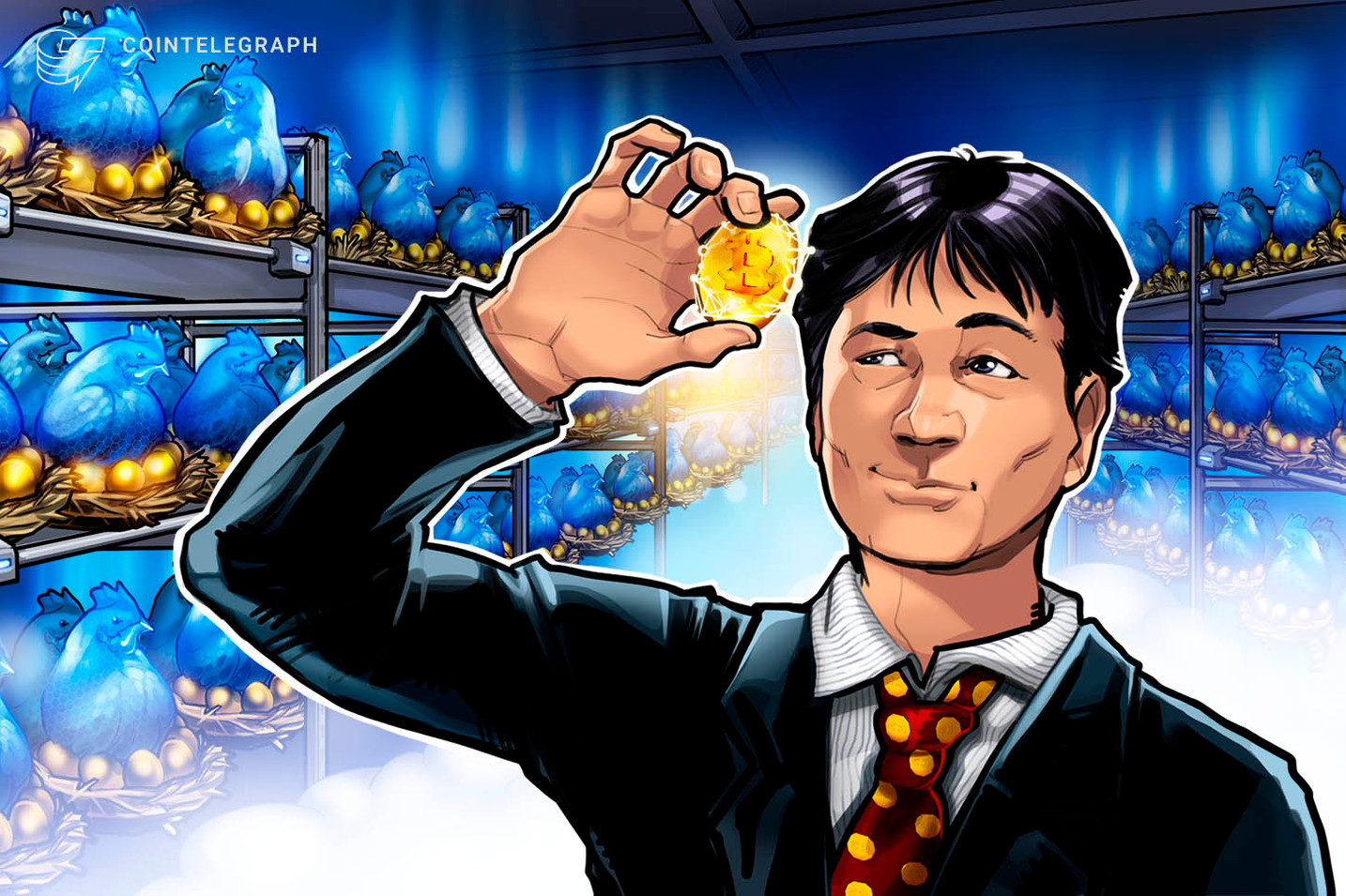 """""""Bitcoin Miner"""" pajamos per 50 dienas šoktelėjo 4%, nes sumažėjo rekordiniai sunkumai"""