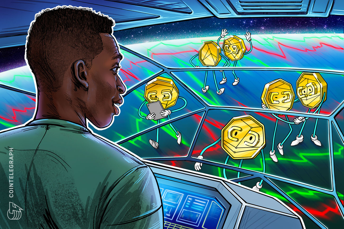 Az Altcoins és a DeFi tokenek magasabbra emelkednek, mivel a Bitcoin ára 40 XNUMX dollárra esik