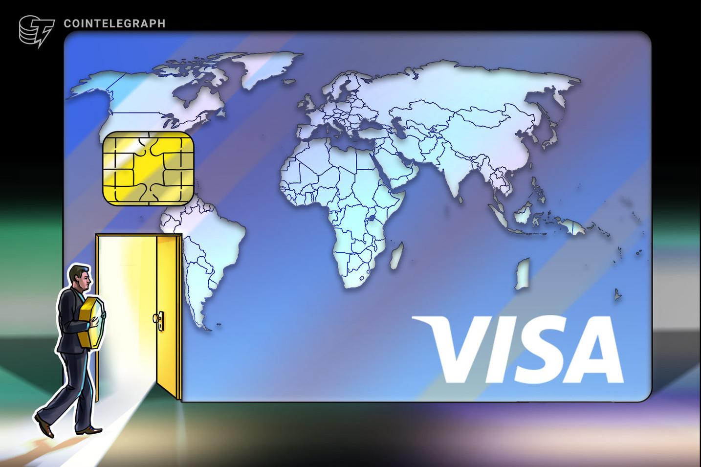 A Visa több mint egymilliárd dollárnyi kriptográfiai kiadást jelent 1 első félévében