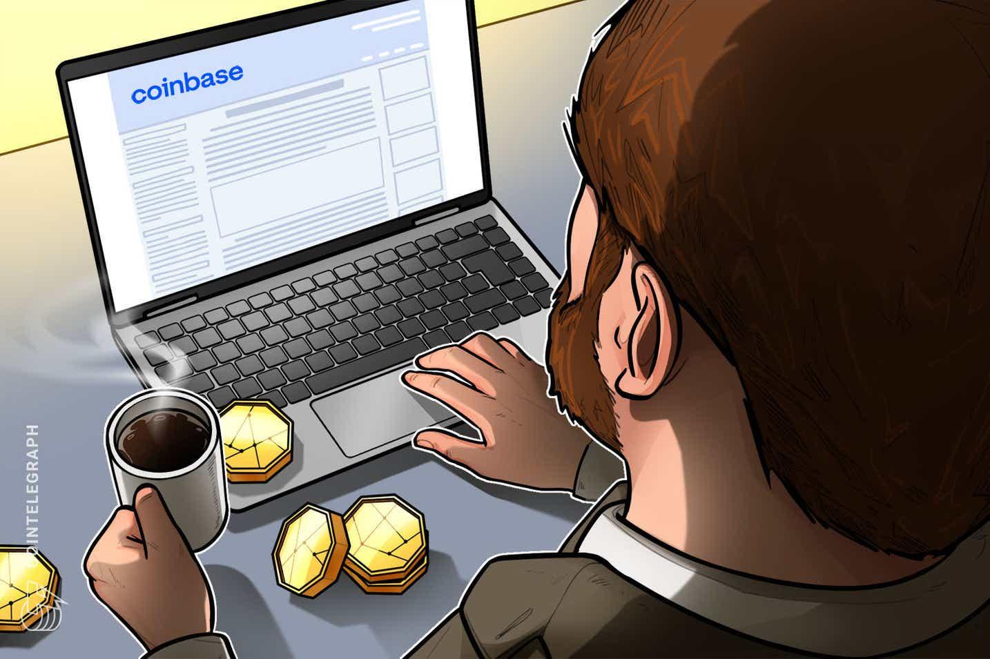 Quase 1.1 milhão de pessoas já se inscreveram na lista de espera do Coinbase NFT