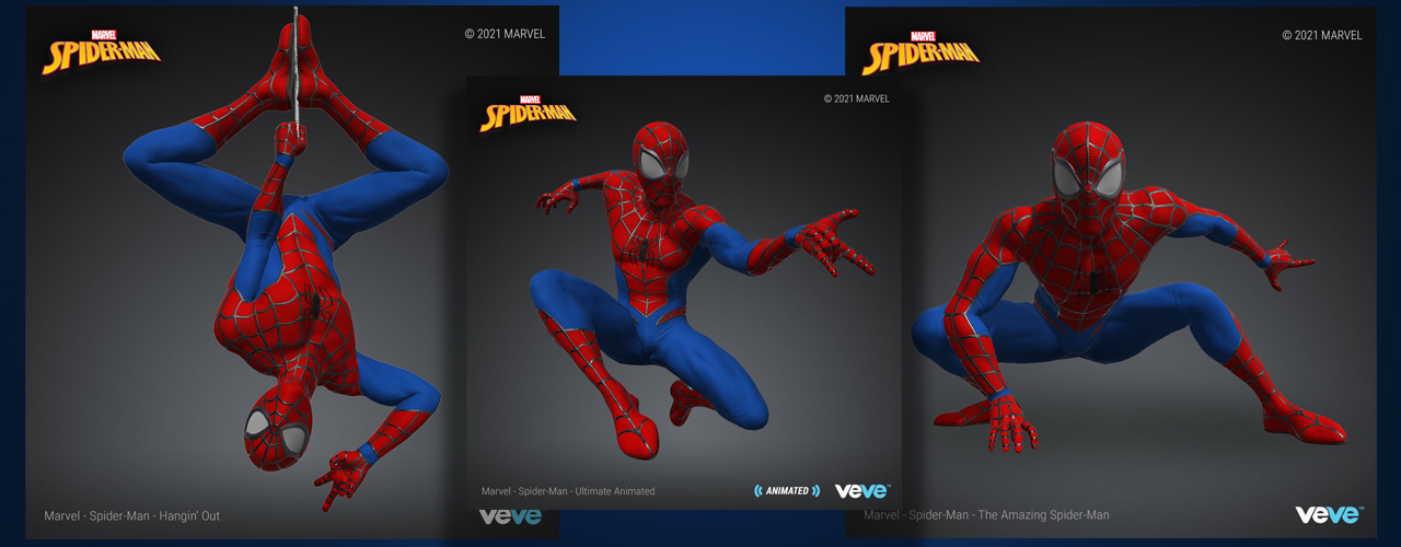 Mamangha upang Ilunsad ang Spider-Man NFTs This Week - NFT Comic, 'Super-D Figures' na Sundin