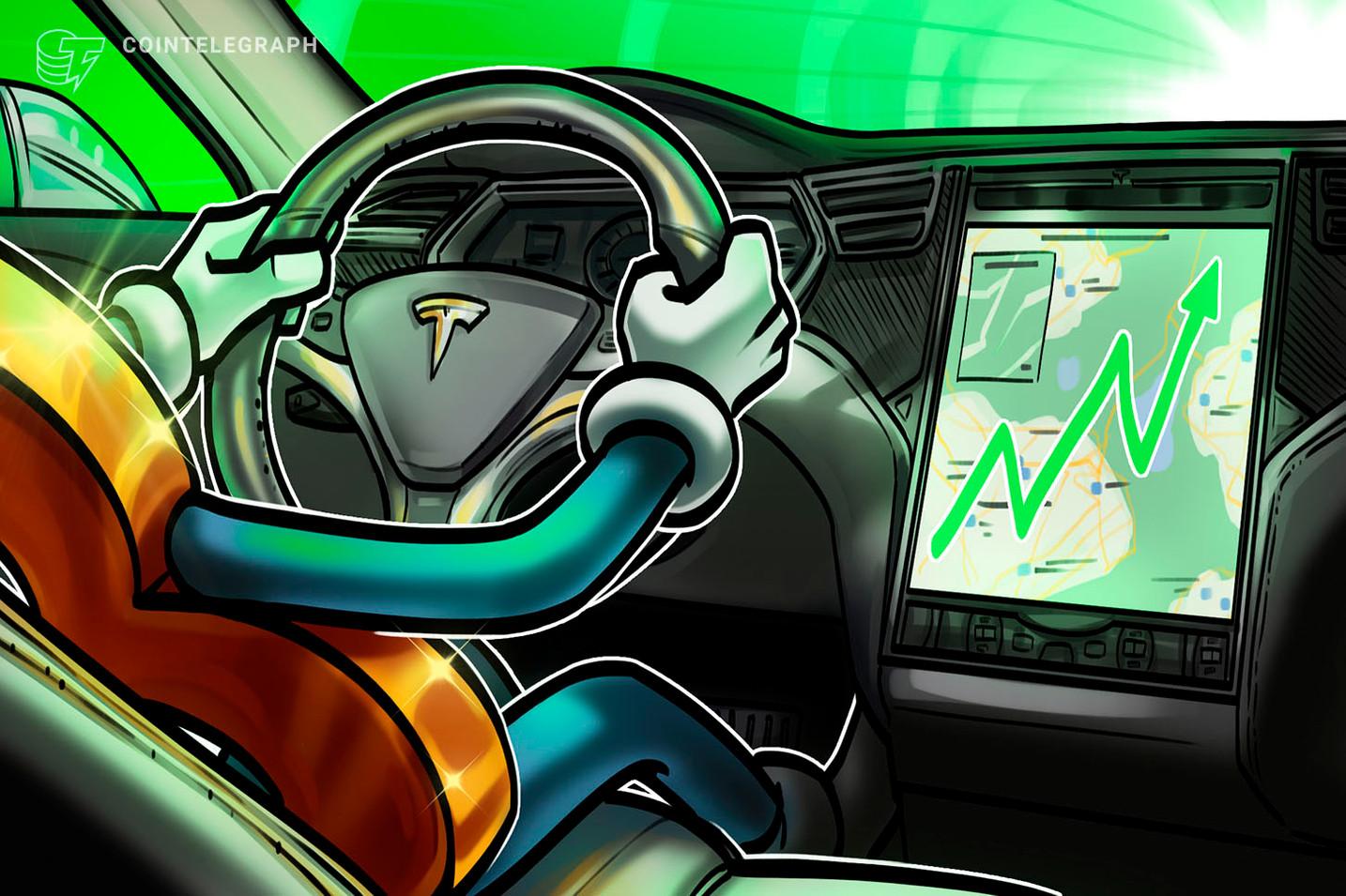 Tesla rapporterer $ 1B inntekt for 2. kvartal til tross for $ 23M nedskrivning på BTC