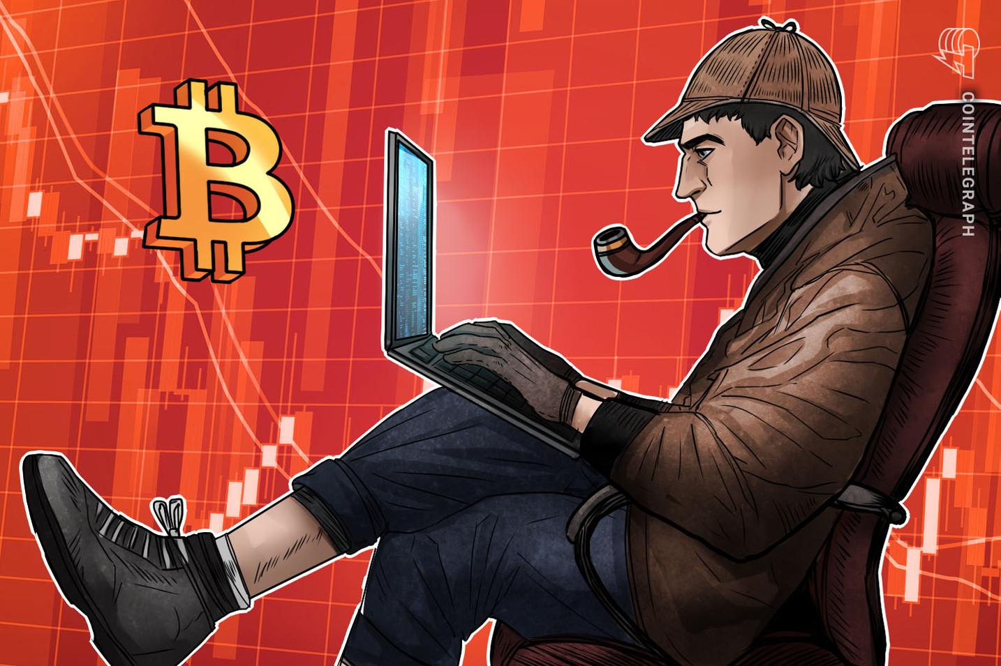 Cena bitcoinu klesá pod 38 XNUMX USD a býčí obchodníci hledají další vyšší minimum