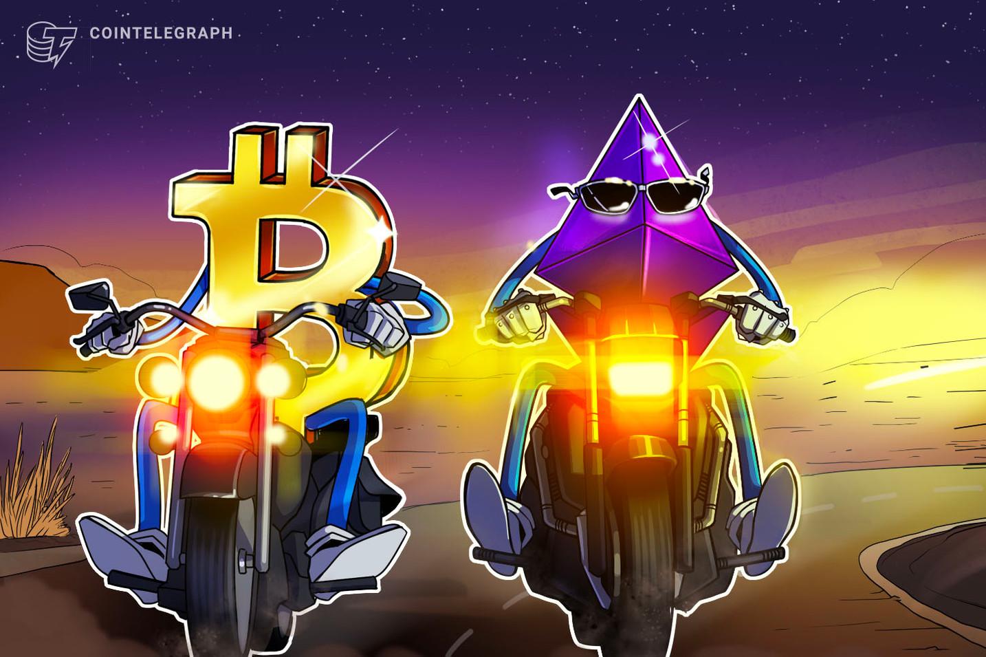 """Nur HODL! Bitcoin und Ethereum übertreffen Krypto-Indexfonds mit """"geringerem Risiko"""""""