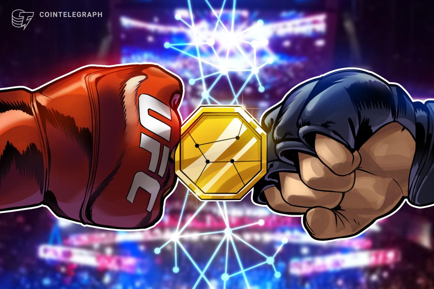 أبرمت UFC صفقة رعاية بقيمة 175 مليون دولار مع Crypto.com