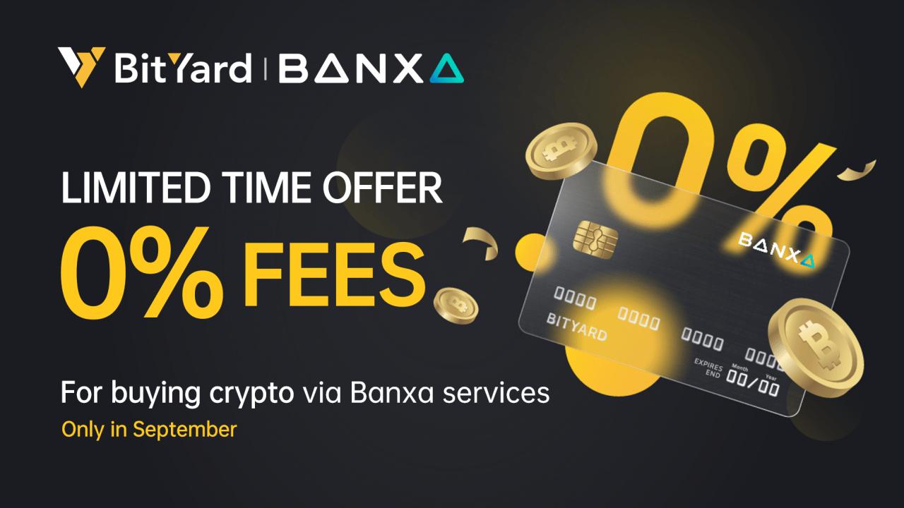 BitYard fez parceria com a Banxa para expandir os métodos de depósito em dinheiro da Fiat que oferecem suporte às principais moedas