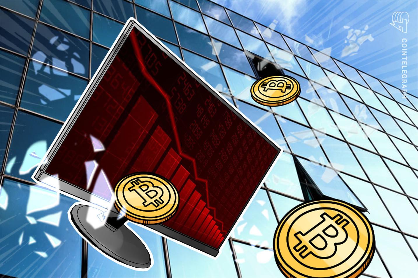 Биткойн упал на шестое место по дневной выручке, имея всего 12% комиссий Ethereum.