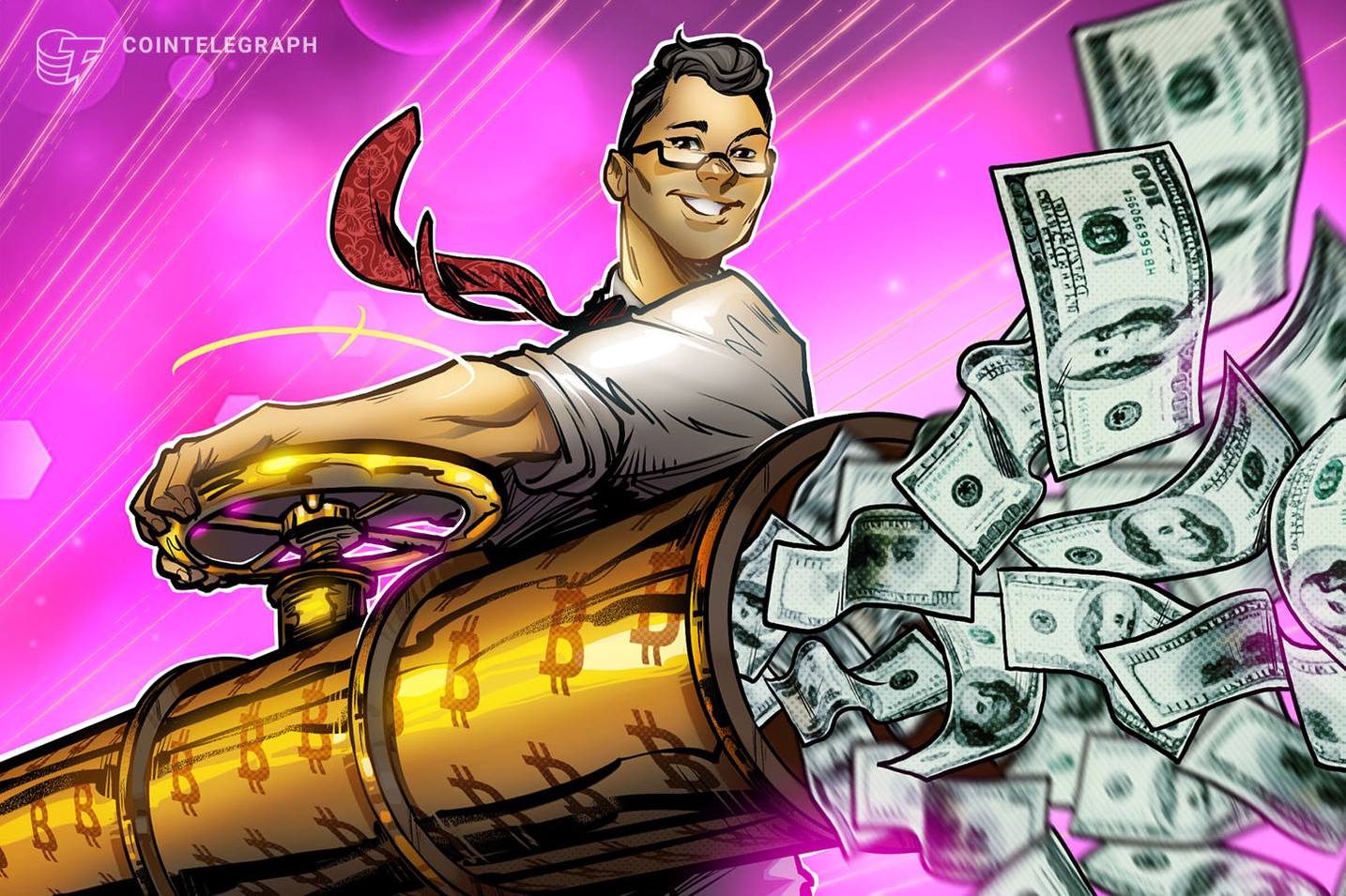 La Chine est pumpsortir de l'argent des États-Unis avec Bitcoin
