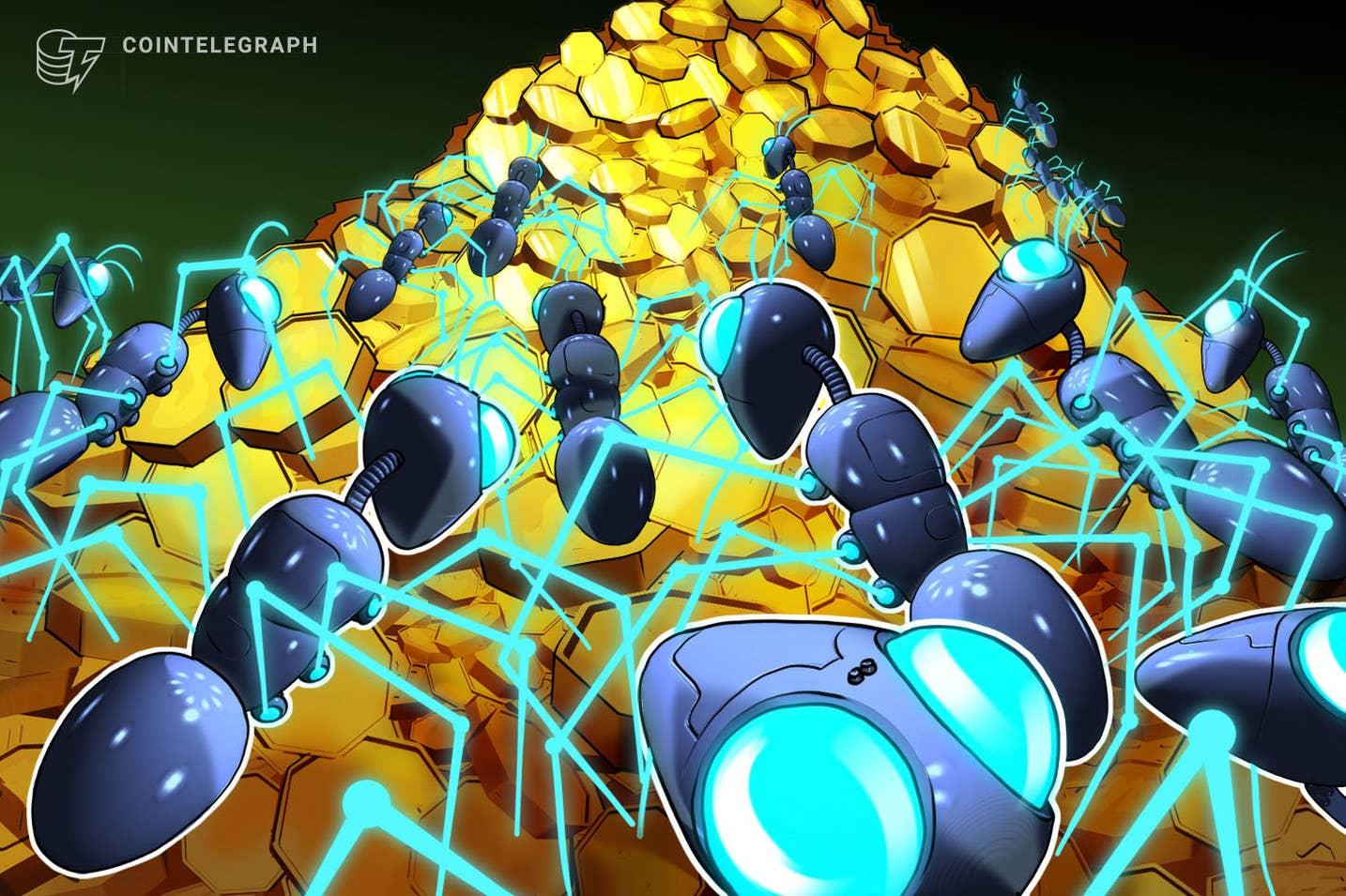 Investidores institucionais aumentam suas participações em criptografia pela 5ª semana consecutiva