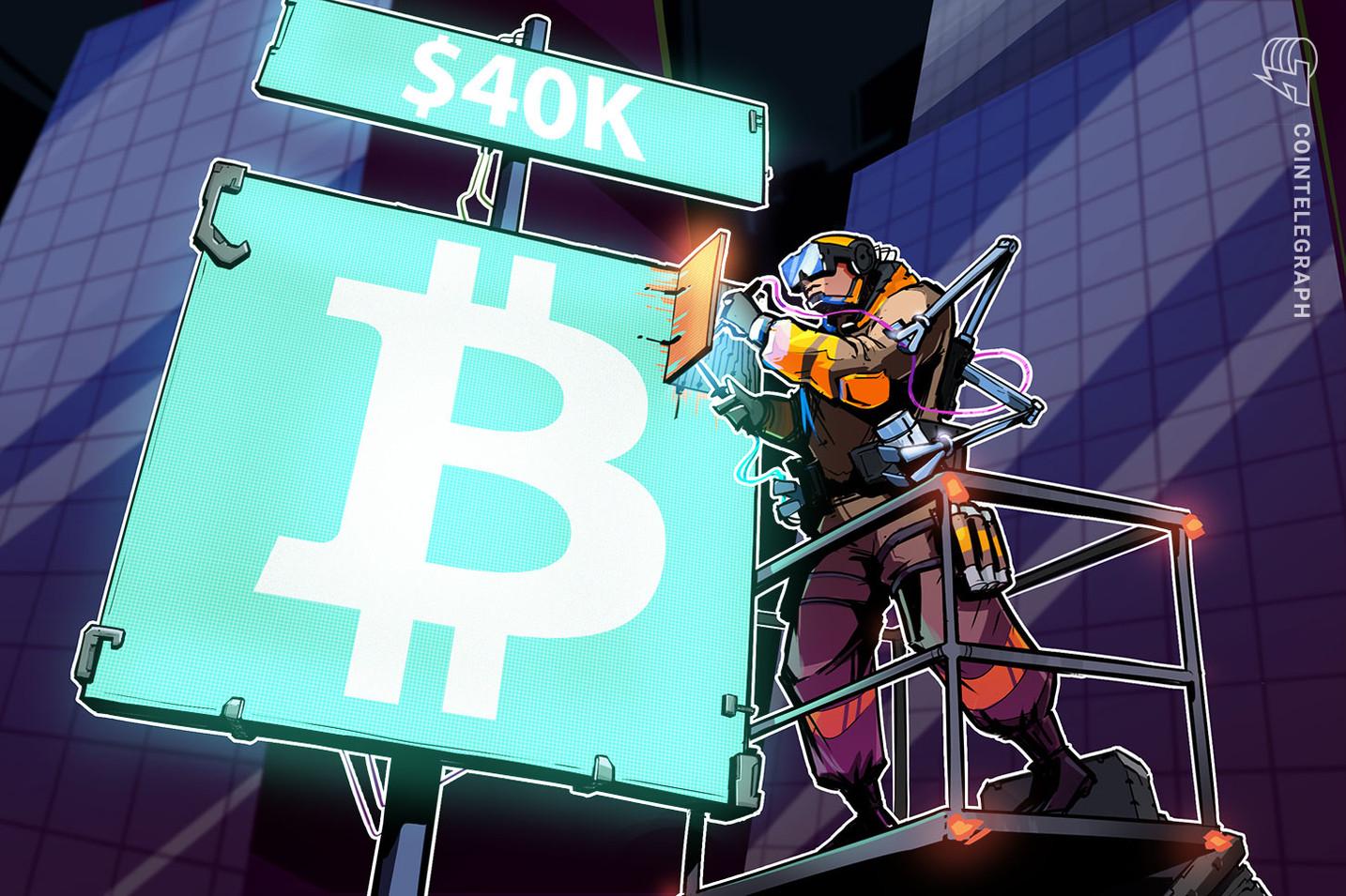 """Bitcoin lufton në $ 40K pas konferencës për shtyp """"më konfuze"""" të Jerome Powell"""