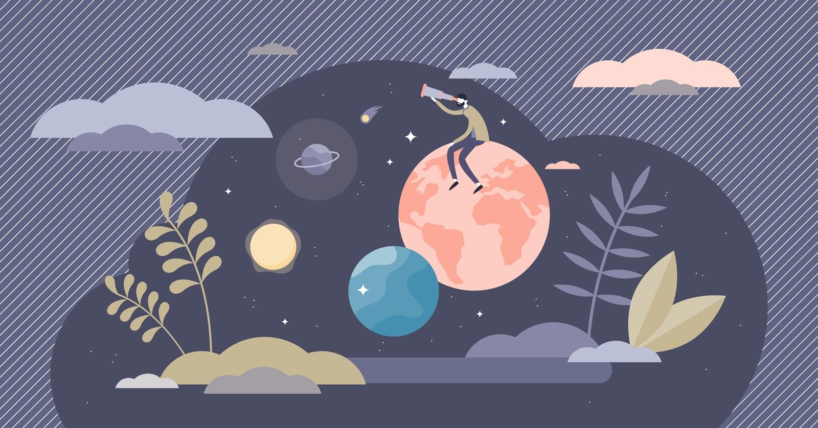 إليك ما يبدو عليه مستقبل النظام البيئي للأجرام السماوية