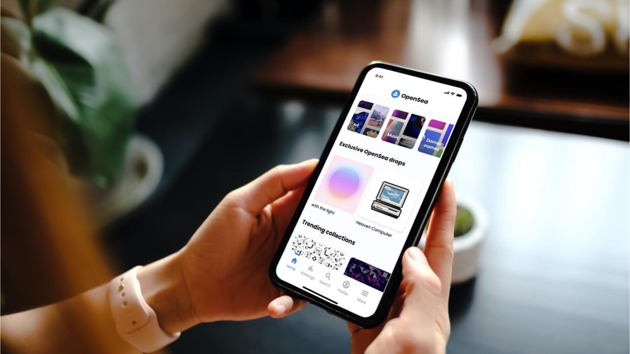 O maior mercado de NFT por volume Openea lança aplicativo para smartphone