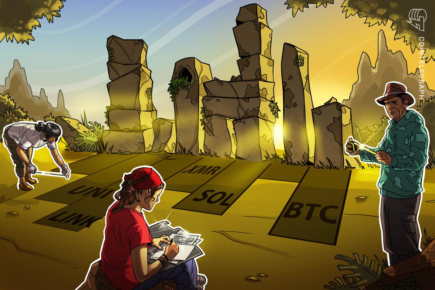 Top 5 des crypto-monnaies à surveiller cette semaine : BTC, UNI, LINK, SOL, XMR