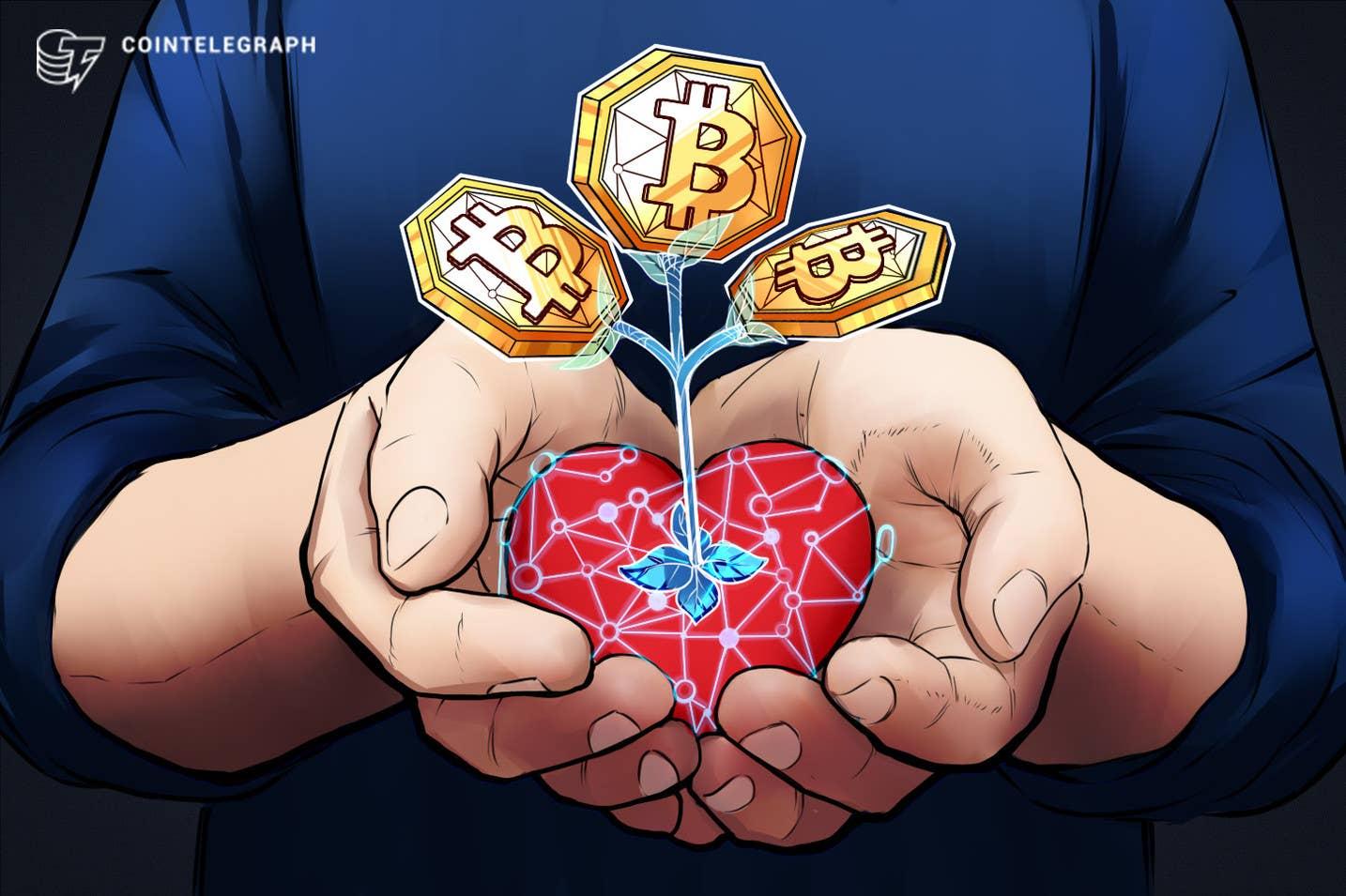 """16 mlrd. USD labdaros teikėjas įgalina aukoti """"Bitcoin"""" per """"The Giving Block"""""""
