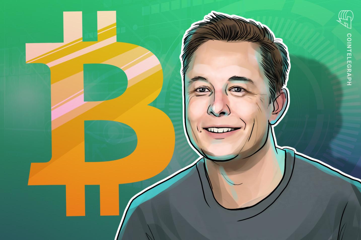 Elon Musk sier at Bitcoin kanskje allerede har nådd sin referanseindeks for fornybar energi