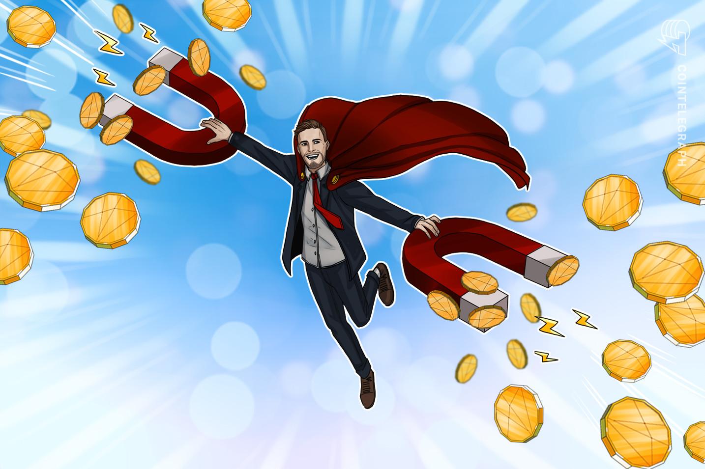 """NEM, """"Augur"""" ir """"District0x"""" kaina stumia aukštesnę, o """"Bitcoin"""" prekiauja žemiau nei 32 tūkst"""