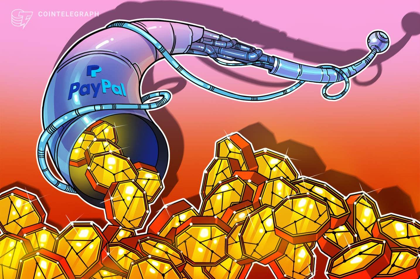 PayPal conclui lançamento de criptografia para clientes do Reino Unido