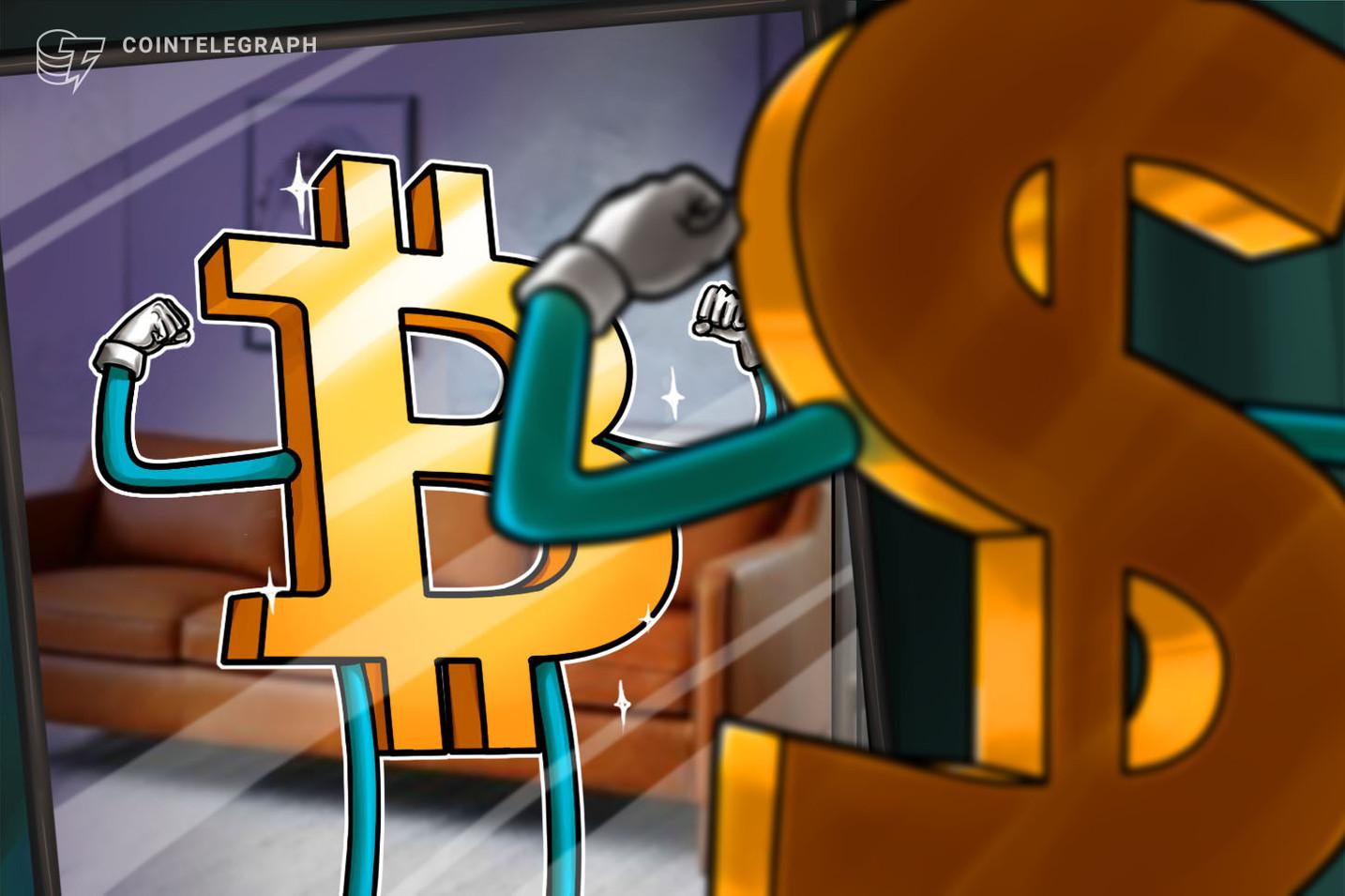 Bitcoin 가격은 $ 38에 집착하지만 Dollar Index의 반등은 BTC에 압력을 가할 수 있습니다