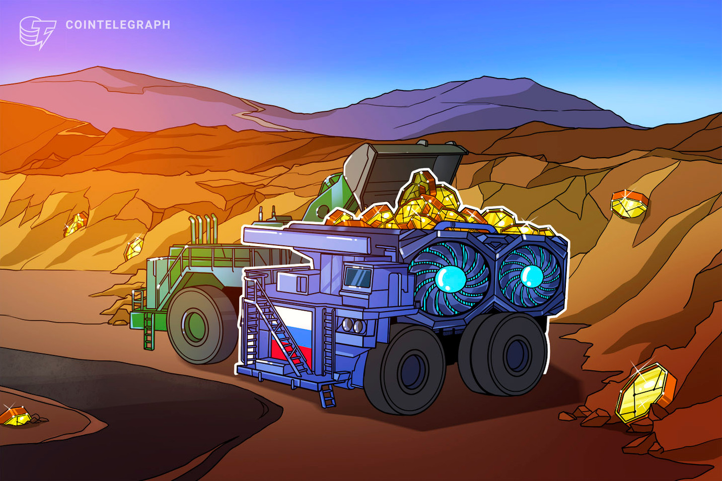 Nowy projekt ma na celu sprowadzenie globalnych górników kryptowalut do Rosji