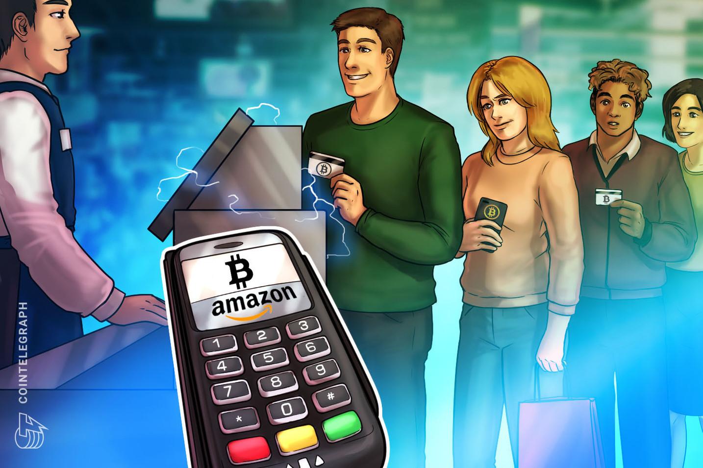 Amazon planeja aceitar pagamentos de Bitcoin este ano, afirma fonte