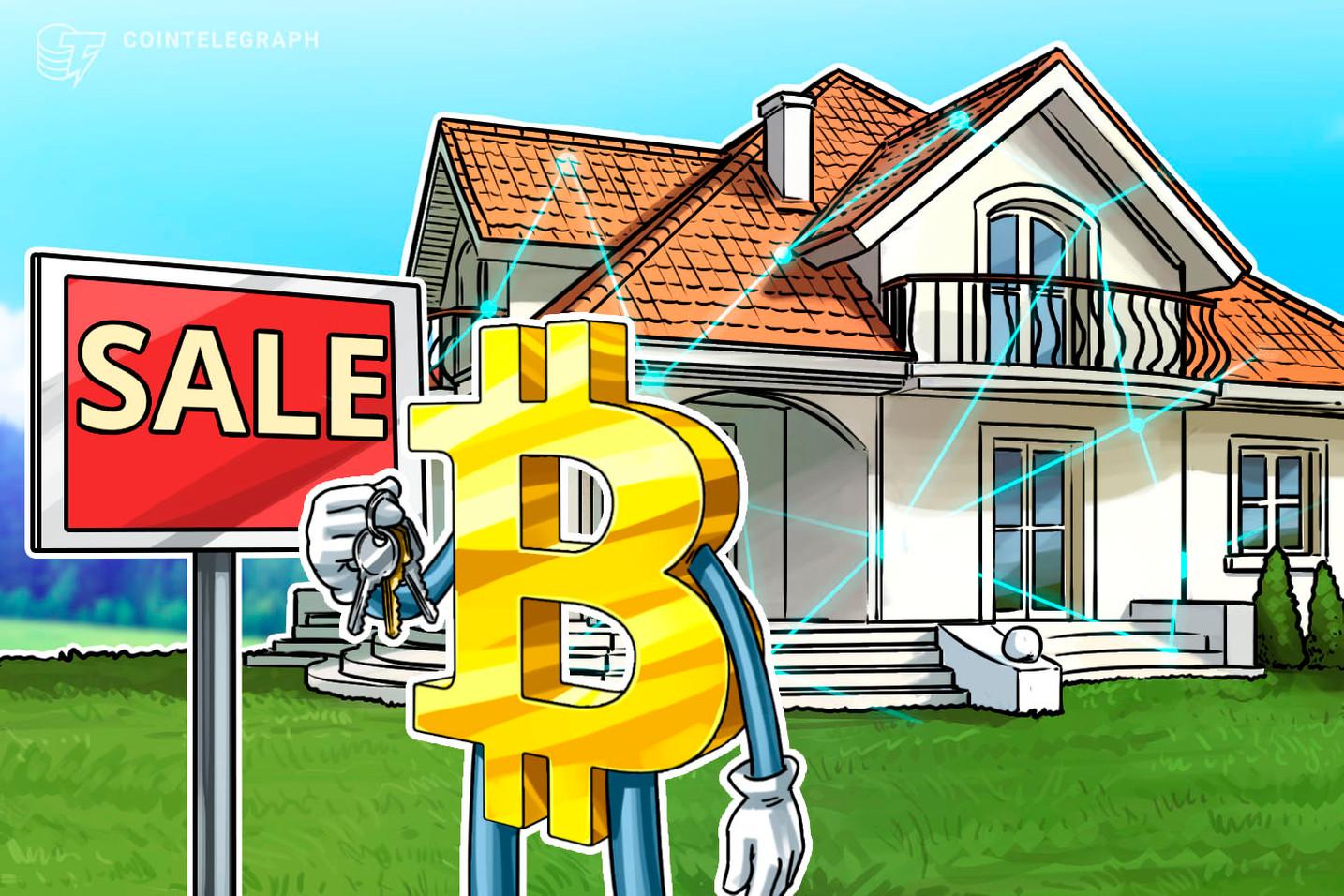 Bitcoin-Zahlungen für Immobilien gewinnen an Bedeutung, da Krypto-Inhaber nach Monetarisierung suchen