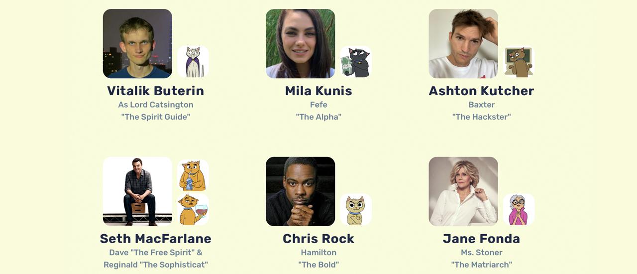 """Mila Kunis """"Stoner Cats"""" NFT išpardavimas kainuoja 8 mln. USD - animacinę seriją gali žiūrėti tik NFT turėtojai"""