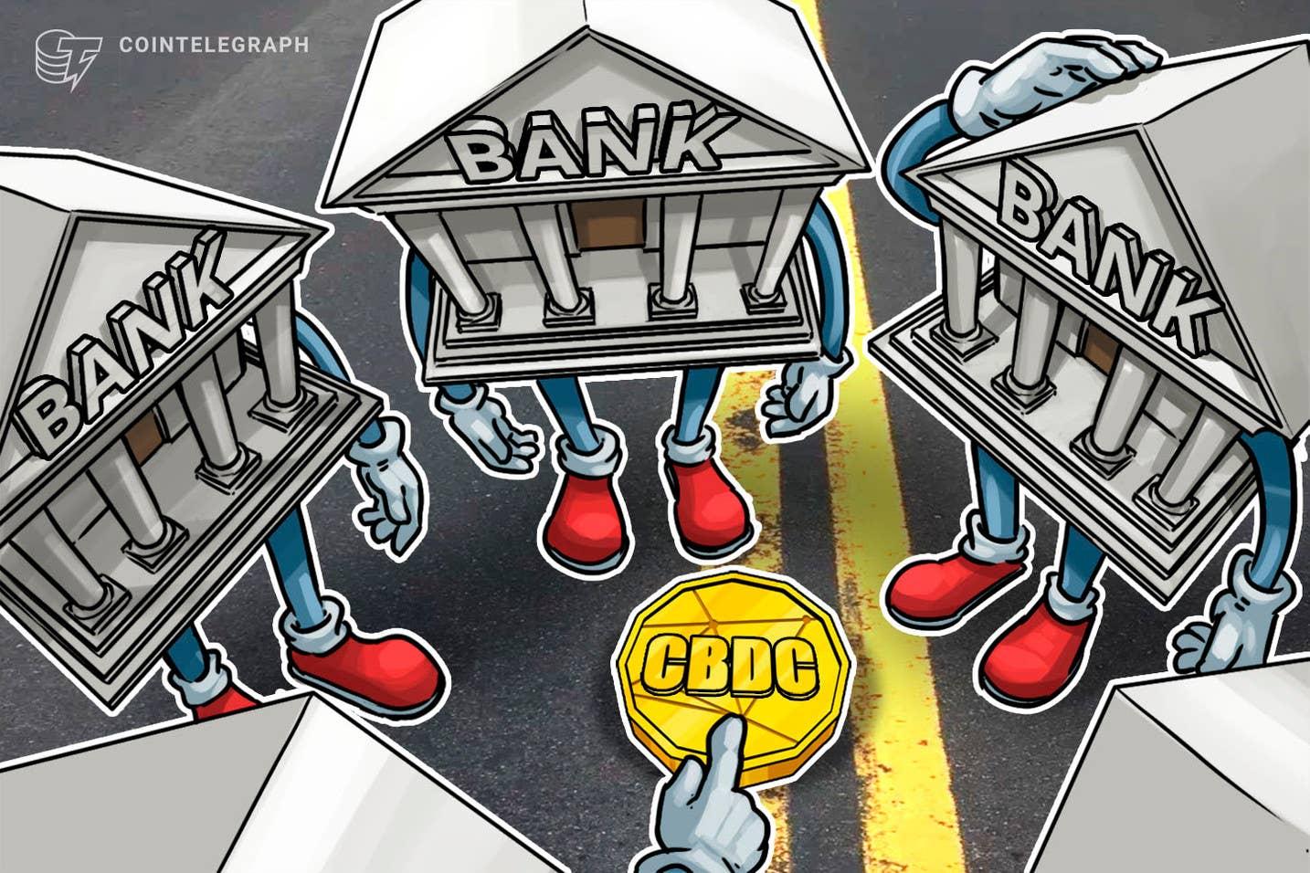 HSBC generalinis direktorius palaiko CBDC prieš kriptovaliutas ir stabilias monetas