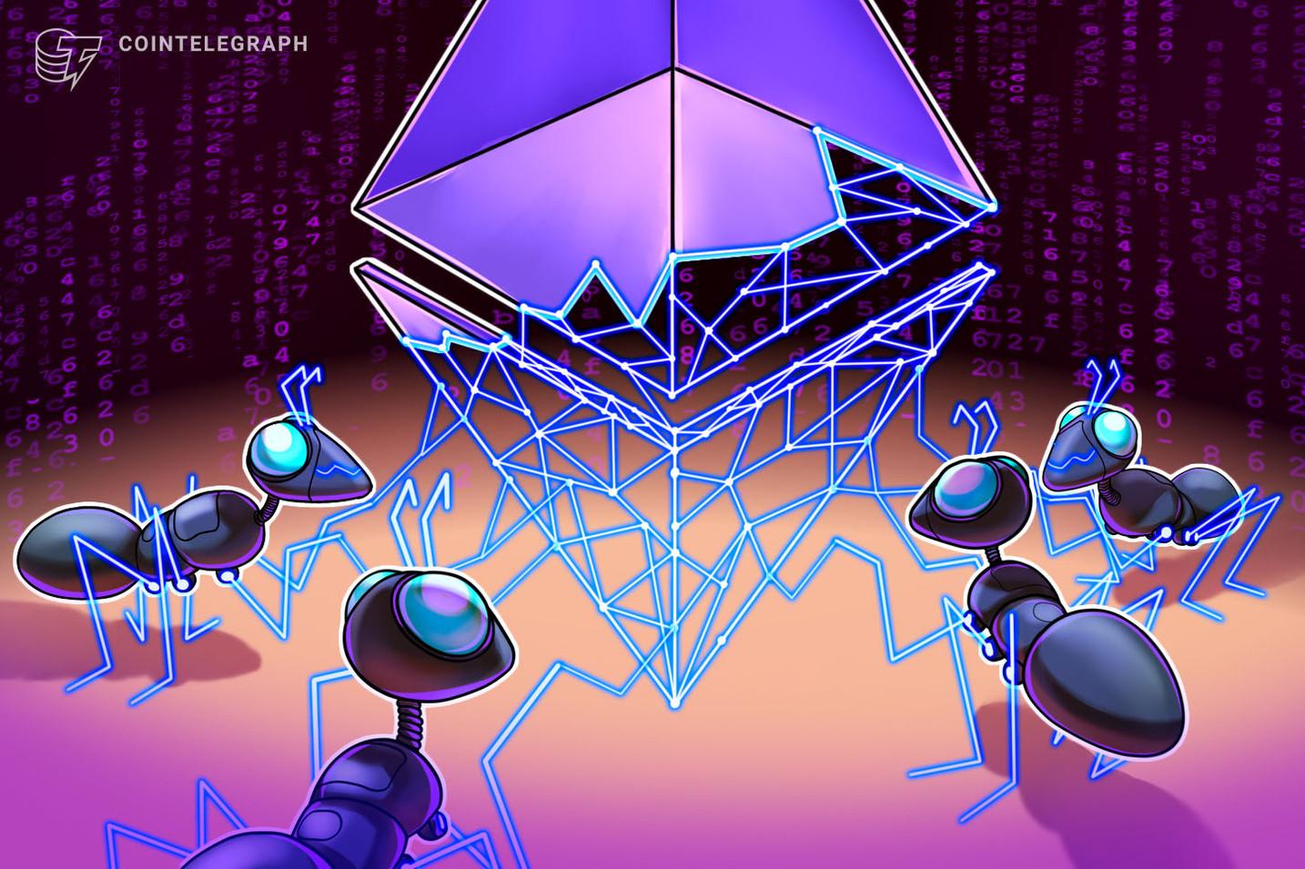 """Londono """"Ethereum"""" atnaujinimas į galutinį testnetą buvo nukreiptas prieš rugpjūčio 4 d. Šakutę"""