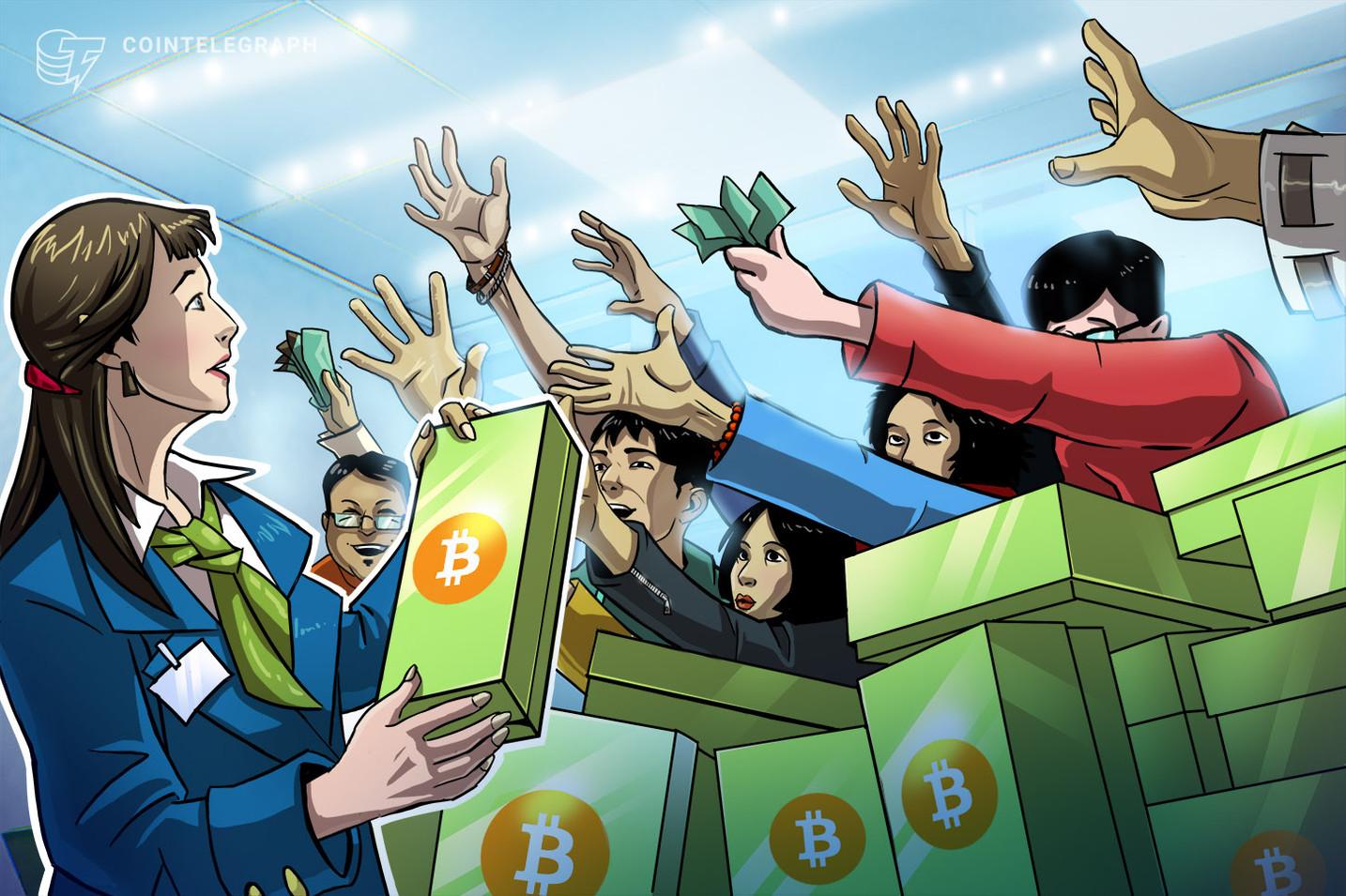 Распродажа биткойнов продолжается, поскольку биткойн приближается к 31 тысяче долларов в преддверии выступления Пауэлла