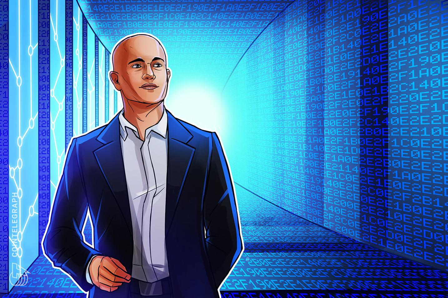 Krypto bietet mehr Freiheit, Coinbase CEO antwortet auf DOGE-Schöpfer