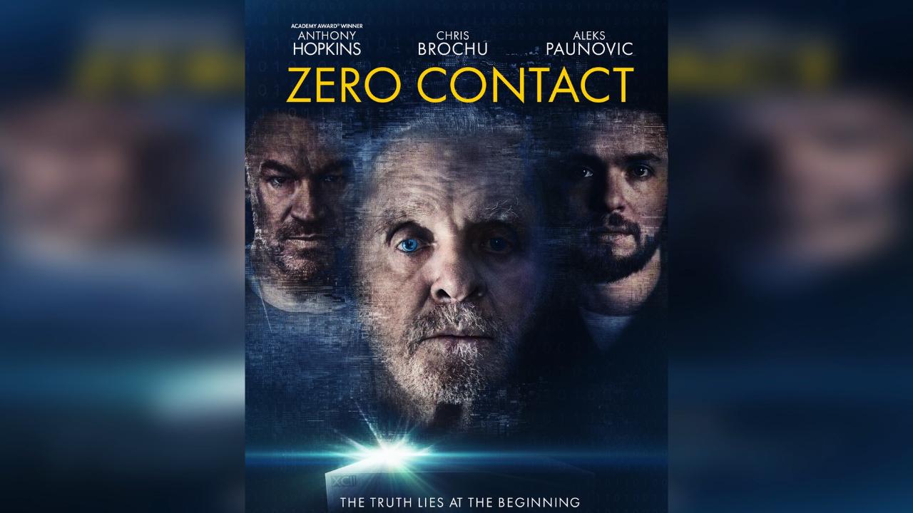 """Anthony Hopkins új thrillere, a """"Zero Contact"""" bemutatója az NFT platformon"""
