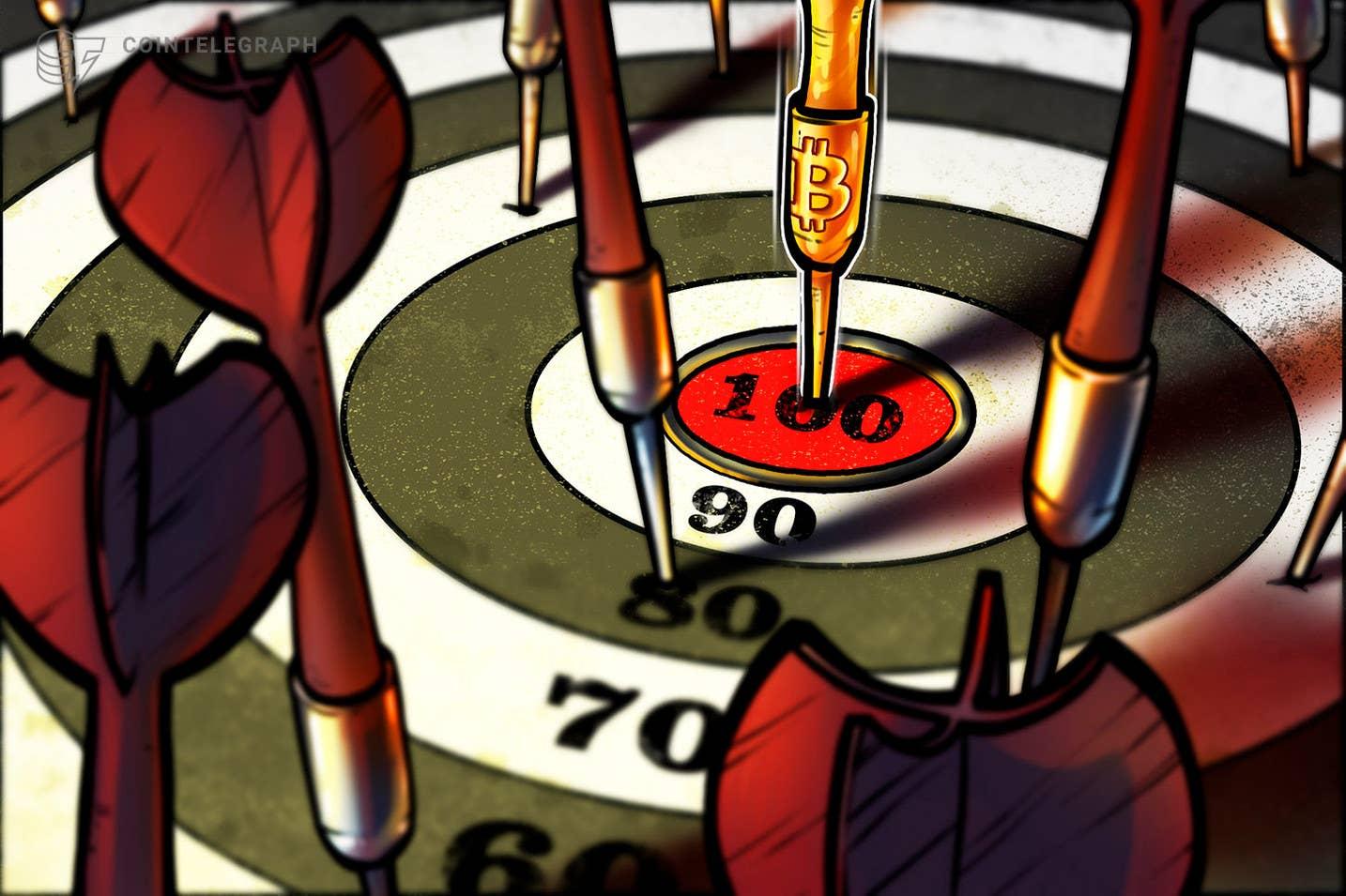 Цената на биткойн ще достигне 100 2021 долара през 2022 г. или началото на XNUMX г.: Standard Chartered