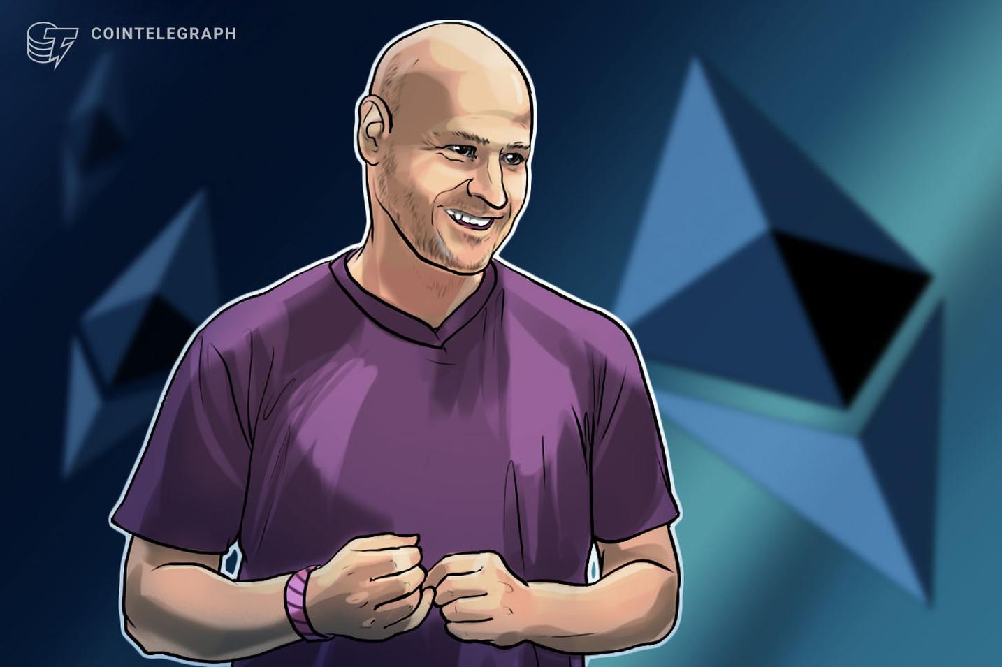 Ethereum kļūst par naudu par ultraskaņu, saka ConsenSys dibinātājs
