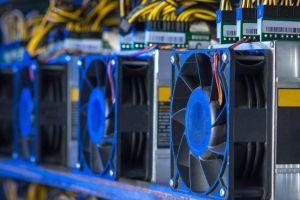Globálny čínsky bitcoinový hashrate bol pred zásahom 101 na poklese